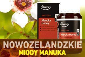 Nowozelandzkie miody Manuka